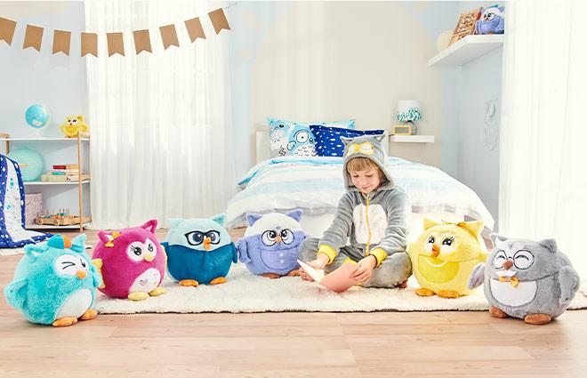 Dyshek Emotion Owl për fëmijë